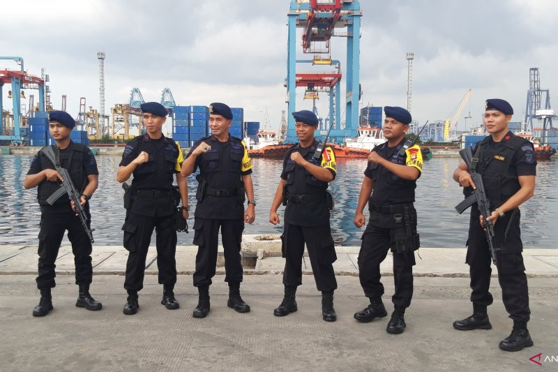 Polda Metro Jaya cek kesiapan aparat keamanan Pelabuhan Tanjung Priok