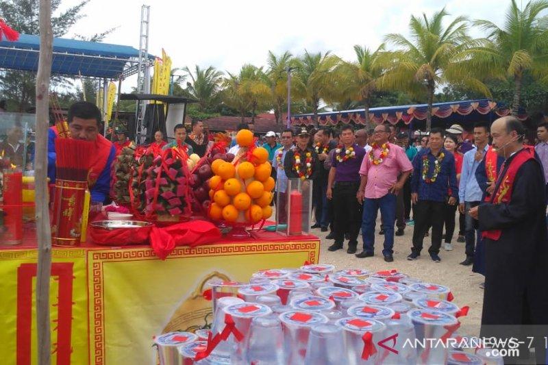Wabup Bangka apresiasi etnis Tionghoa rayakan Peh cun