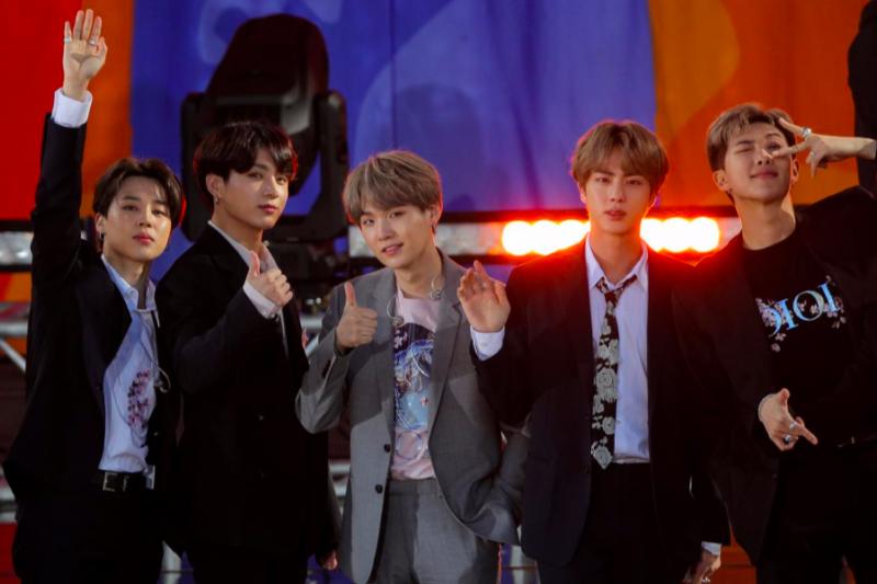 Grup K-pop BTS diajak gabung ke Recording Academy