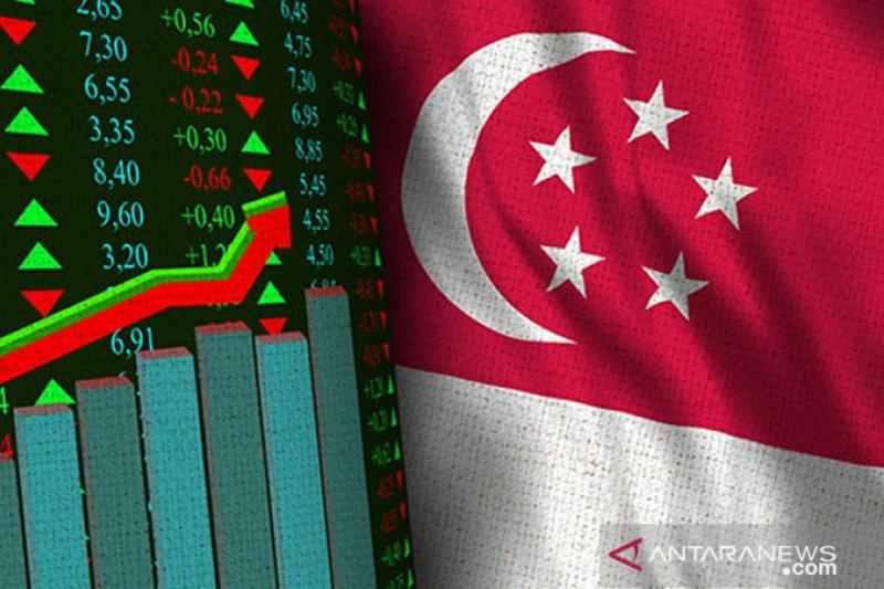 Bursa saham Singapura ditutup 0,24 persen lebih rendah