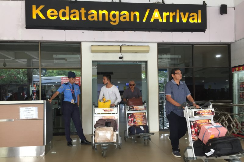 9.594 penumpang tiba di Halim pada H+1 Lebaran