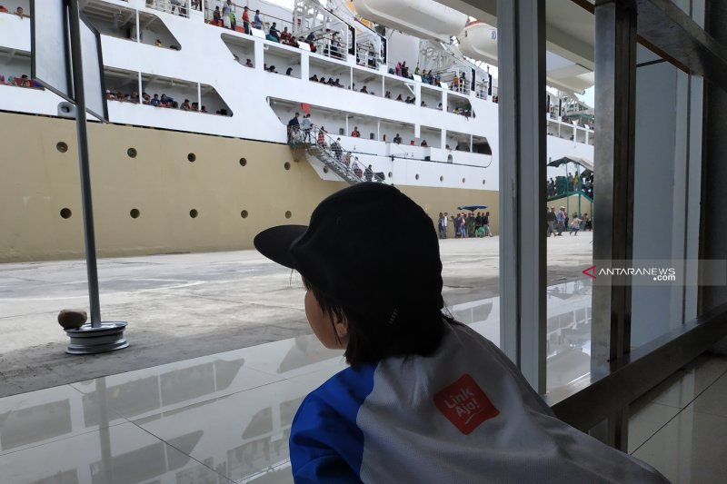 Pelni: Penumpang arus mudik Lebaran 2019 naik 16,39 persen
