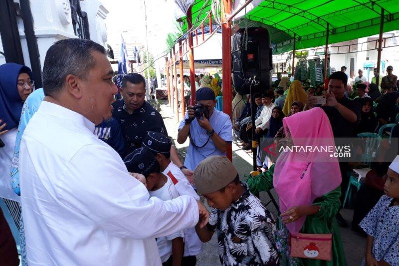 Bendahara DPP Partai NasDem gelar halal bi halal bersama korban bencana Pasigala