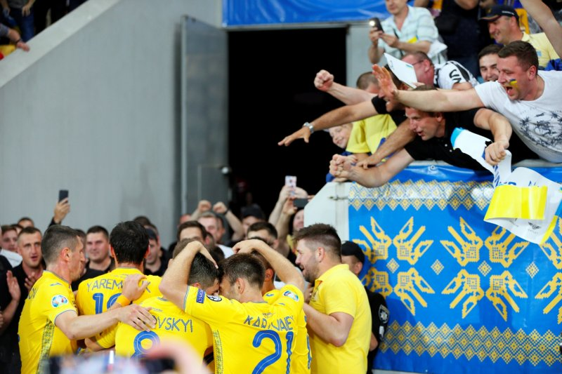 Ukraina unjuk bantai Serbia 5-0