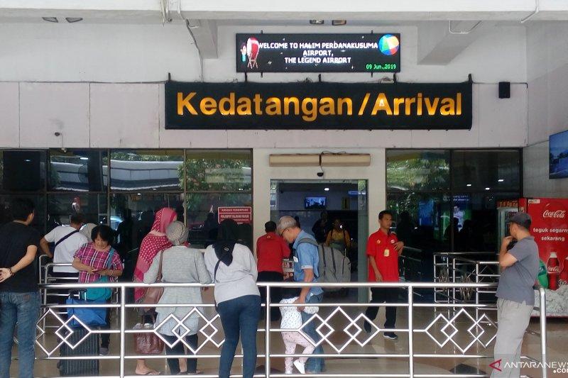 Bandara Halim alami penurunan penumpang musim mudik Lebaran 2019