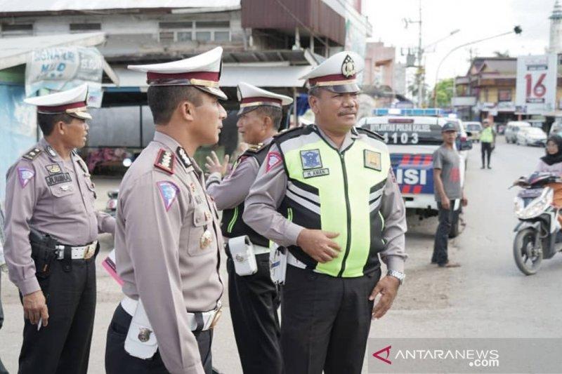 Arus balik ramai lancar di Jalan Ahmad Yani, sebut Dirlantas Kalsel
