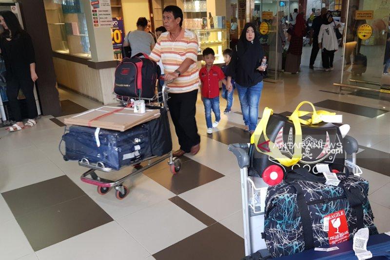 Lebih 10 ribu penumpang pada puncak arus balik di Bandara Pekanbaru