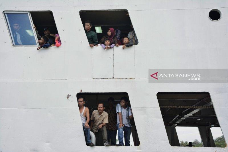 Jumlah debarkasi penumpang kapal di Kepri naik 12,23 persen