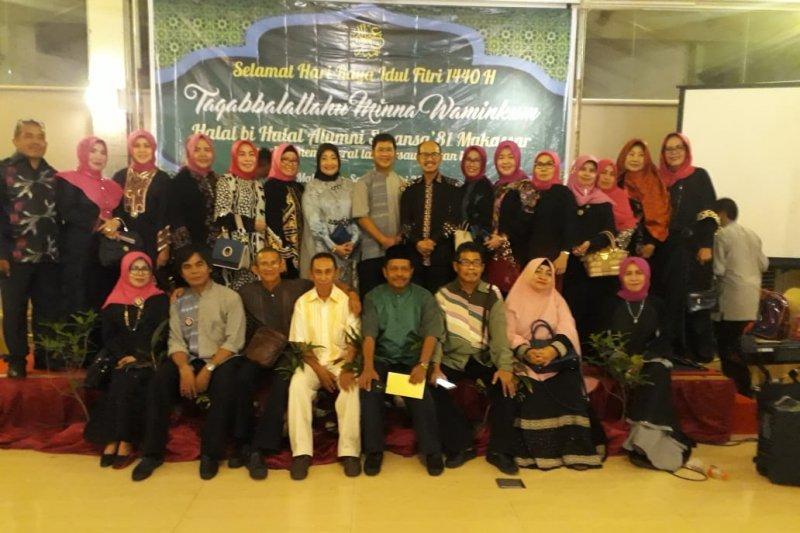 Halal bihalal alumni Smansa'81 dihadiri Wali Kota Makassar 2014-2019