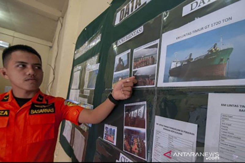 Pencarain kapal tenggelam KM Lintas Timur