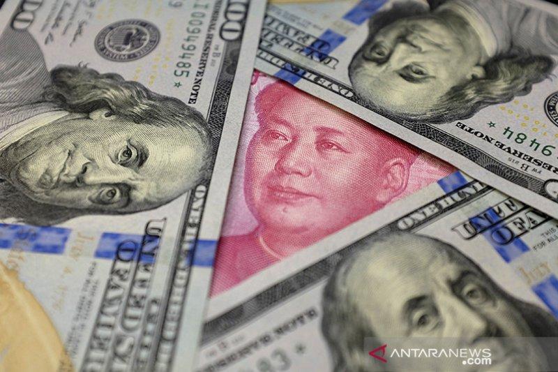 Yuan kembali menguat, naik 286 basis poin jadi 6,5762 per dolar AS