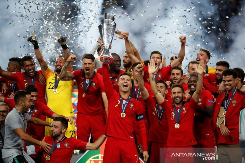 Trofi UEFA Nations League jadi kado Hari Nasional Portugal