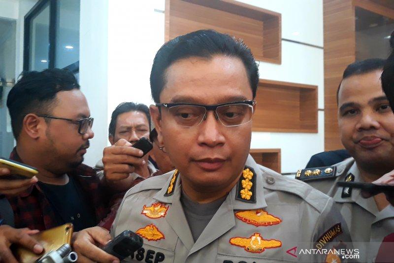 Densus ringkus empat terduga teroris di Bekasi