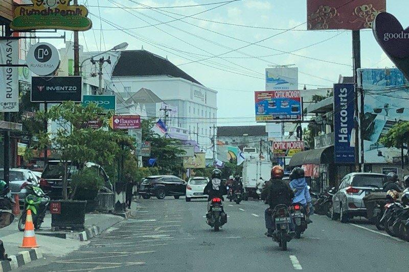 Pelanggaran parkir libur Lebaran di Yogyakarta berkurang