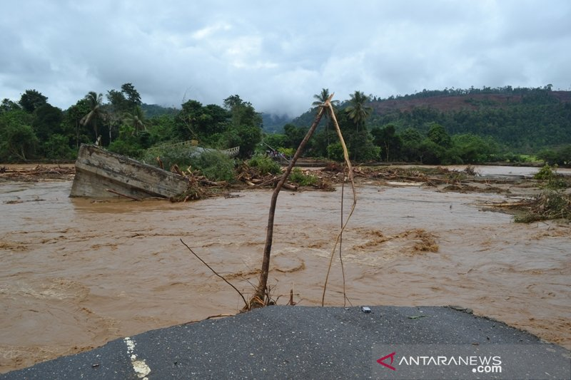 BPBD Sulteng kirim bantuan ke lokasi banjir bandang di Morowali