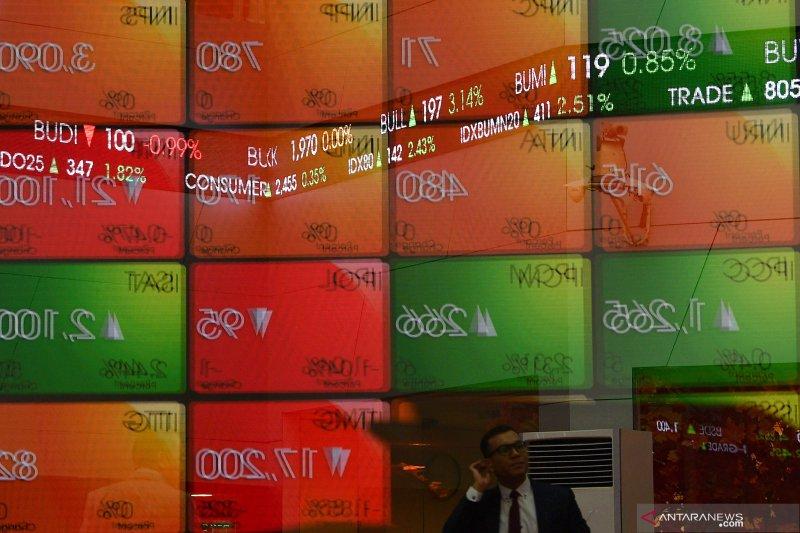 IHSG akhir pekan ditutup menguat ditengah koreksi bursa Asia
