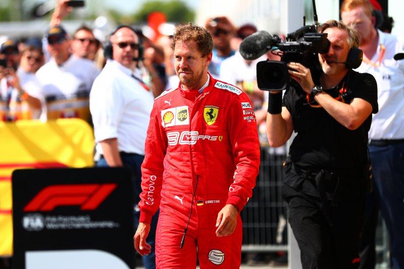 Ferrari tetap junjung Vettel walau ditetapkan finis kedua akibat pinalti