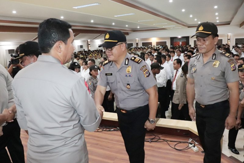 Kapolda ingatkan personel tetap semangat dalam bertugas