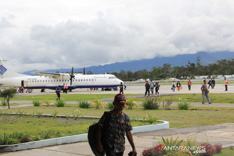 Transportation minister ascertains Wamena in Jayawijaya airport safe for aviation