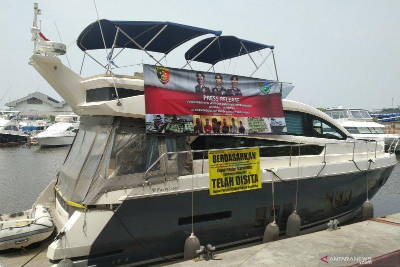 Bareskrim sita 37 kg sabu-sabu dari kapal pesiar berbendera Malaysia