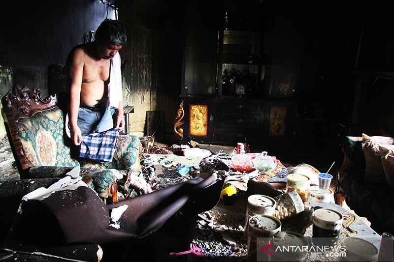 (FOTO) Begini dampak Kebakaran Rumah di Kota Dumai