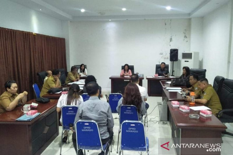 "DPRD Manado hearing ASITA soal ""koenya koenya streed food"""