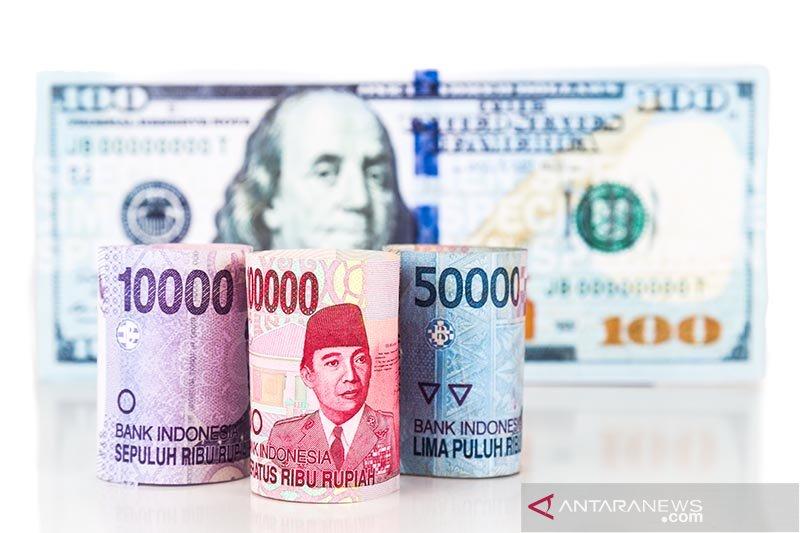 Melemah pagi, rupiah diprediksi menguat hingga Rp14.200 per dolar
