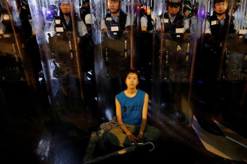 Melihat penampakan People Power di Hongkong
