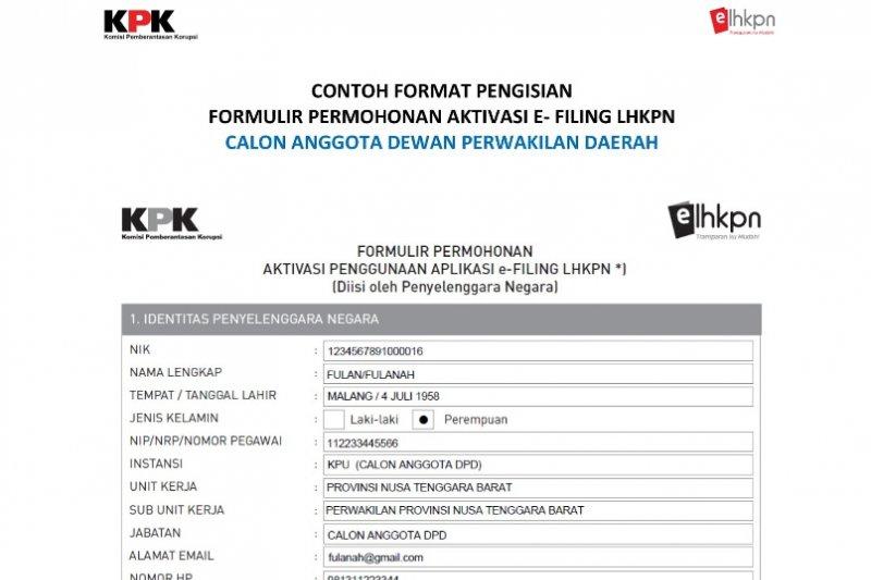 Caleg parpol Biak wajib serahkan bukti LHKPN dari KPK