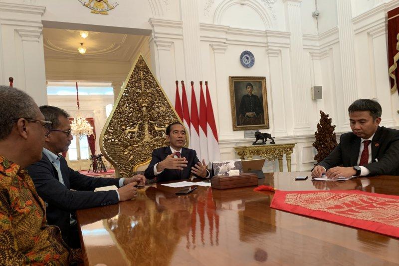 Jokowi beranggapan Kaesang justru senang saat dibully netizen