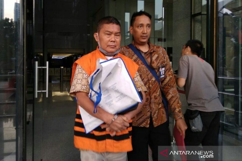 KPK tahan tersangka penyuap anggota DPR Sukiman