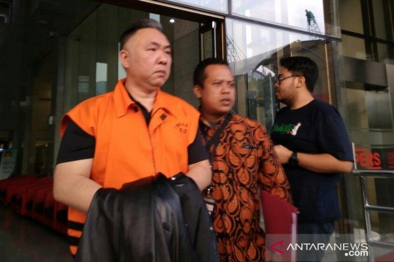 Tersangka penyuap mantan bupati ditahan KPK