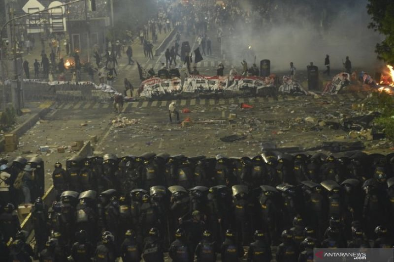 Polres Jakbar segera limpahkan berkas tersangka aksi 21-22 Mei