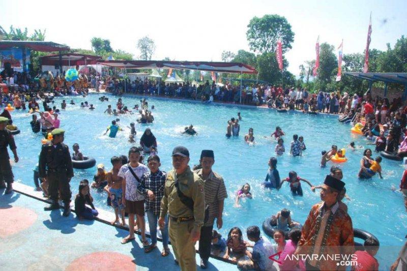 Gondosuli manfaatkan dana desa bangun tempat wisata Pemandian Simpleng