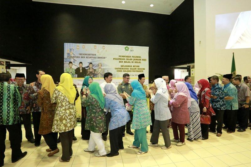 Rektor: halal bihalal momentum membuka hati saling memaafkan