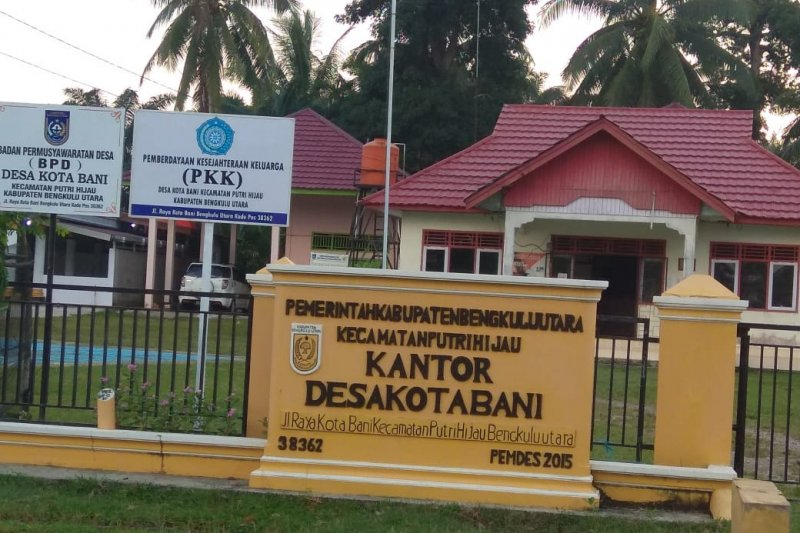 Kota Bani meningkatkan kesejahteraan warga dengan dana desa