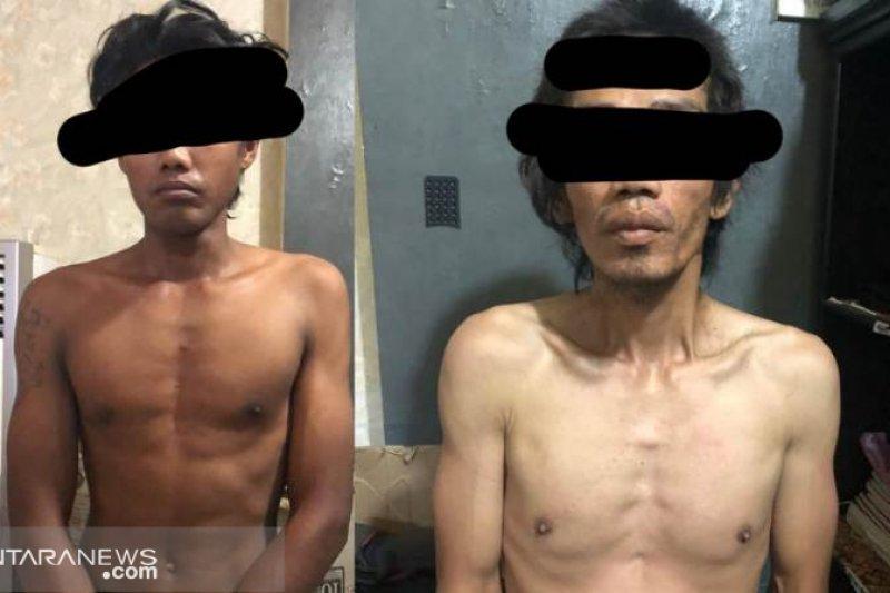 Polisi ringkus dua pencuri di Jalan Halmahera Palu