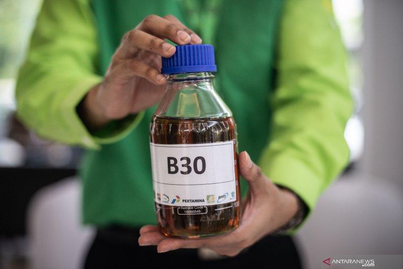 Tahapan uji coba bahan bakar B30 berakhir Oktober 2019