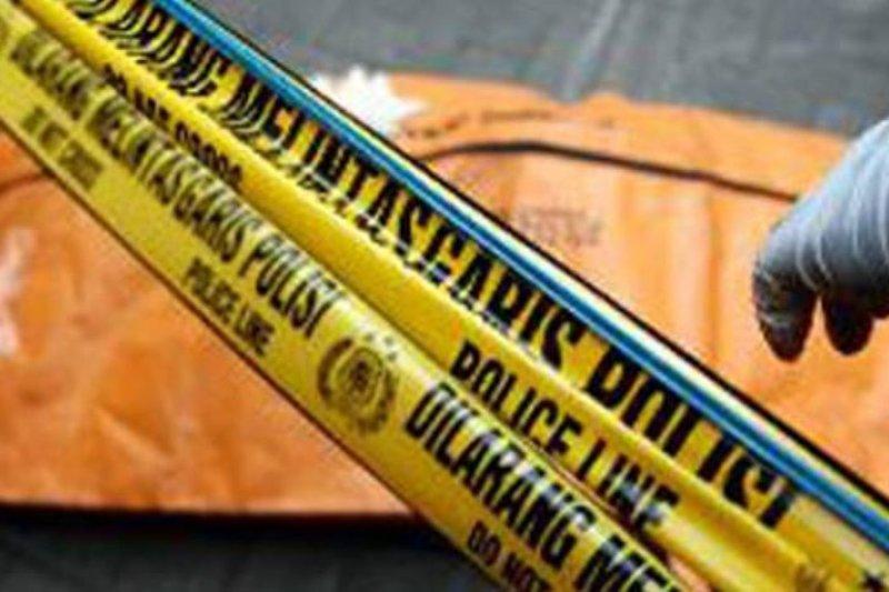 Anggota Polsuska tewas usai terjatuh menabrak tumpukan material dan tabrakan truk di Padang