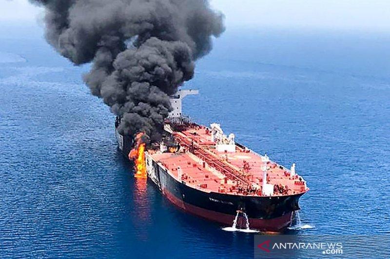 Operator: Tanker Jepang yang diledakkan berlabuh di lepas pantai UAE