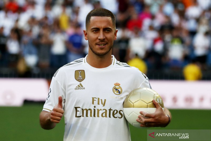 Debut Eden Hazard di La Liga tertunda akibat cedera