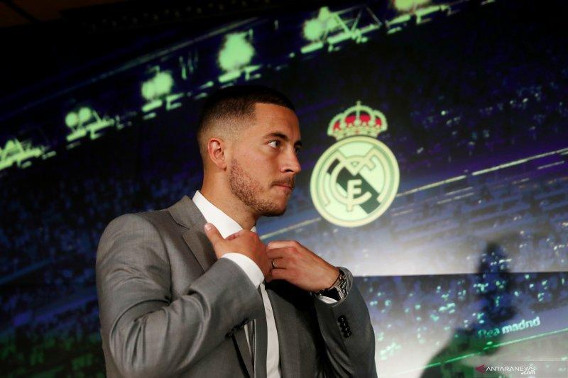 Pesan perpisahan dari Hazard di grup WA pemain Chelsea