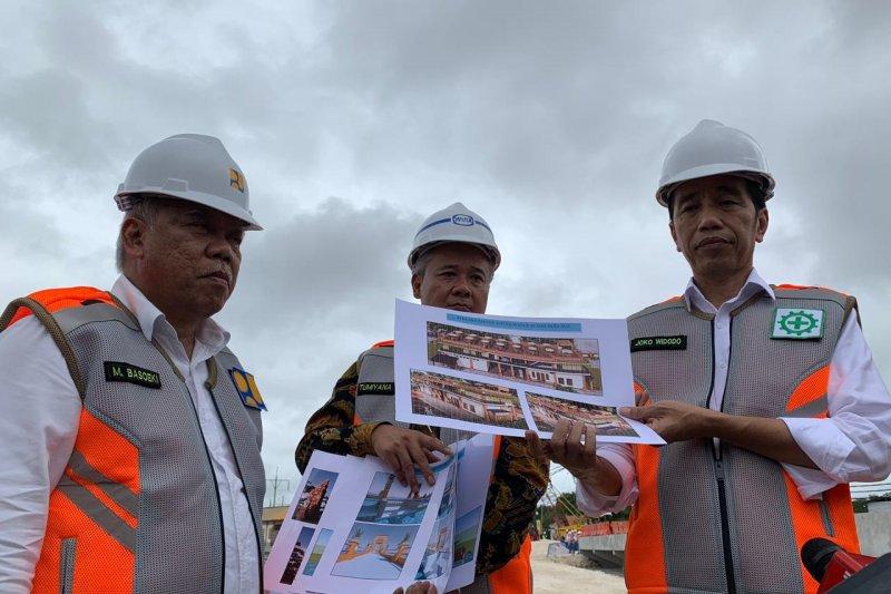 Presiden Jokowi janjikan waduk muara pertama di Indonesia beroperasi 2019
