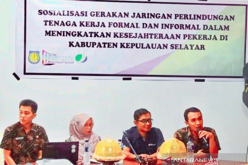Pemkab Kepulauan Selayar gandeng BPJS Ketenagakerjaan sosialisasikan Jarlinaker