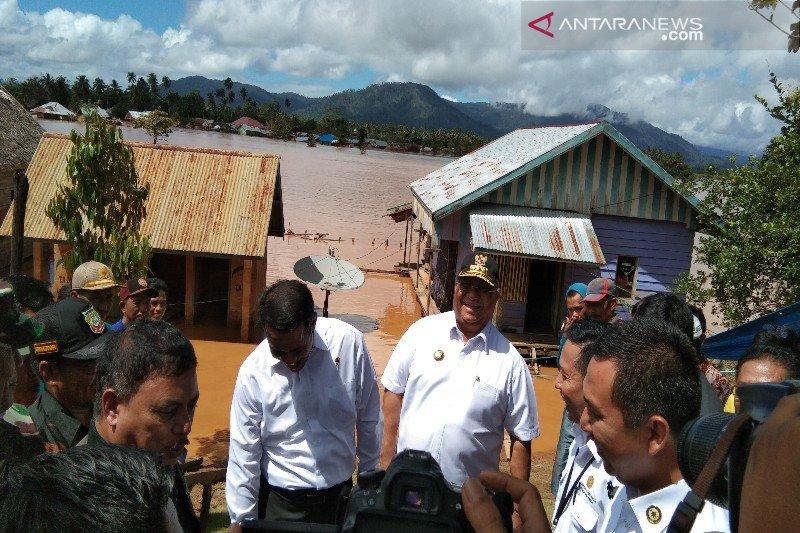 Gubernur bakal perbaiki rumah warga korban banjir Konawe Utara