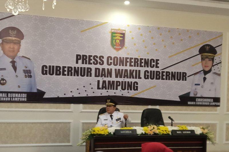 Gubernur Lampung sidak kantor sekdaprov