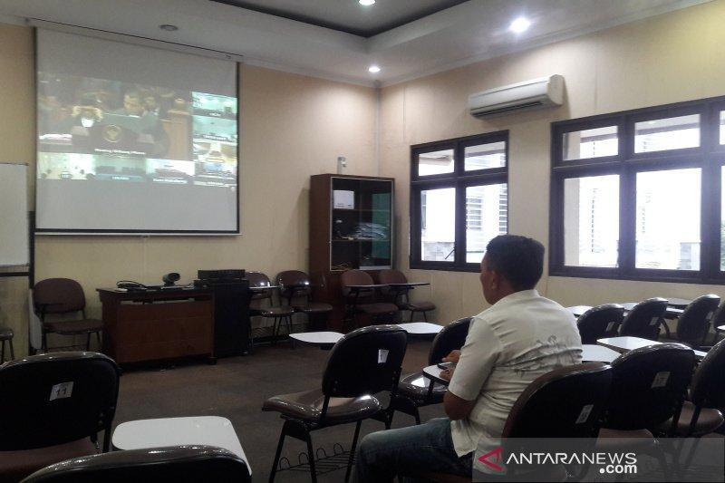"""Video conference"" sidang MK di UGM Yogyakarta sepi penonton"