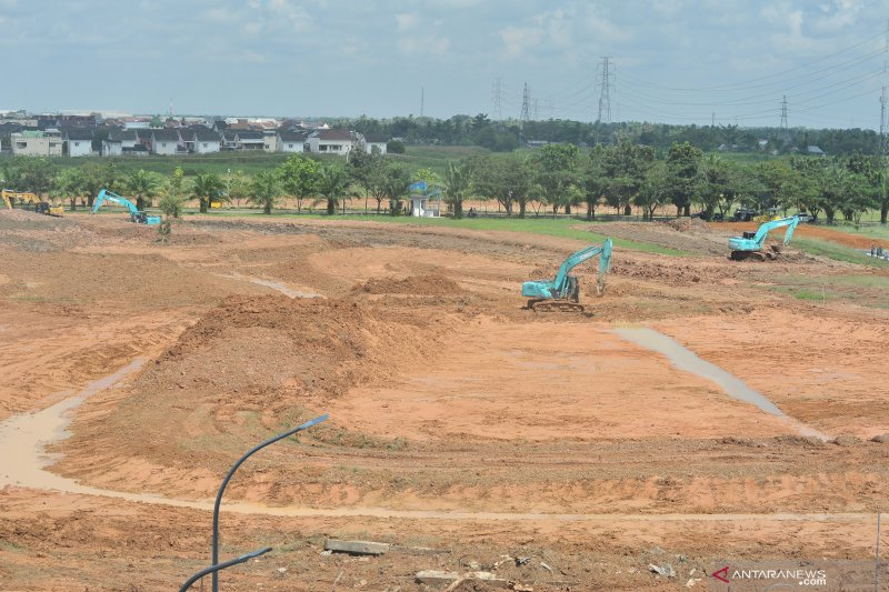 Sirkuit motorcross Jakabaring segera rampung
