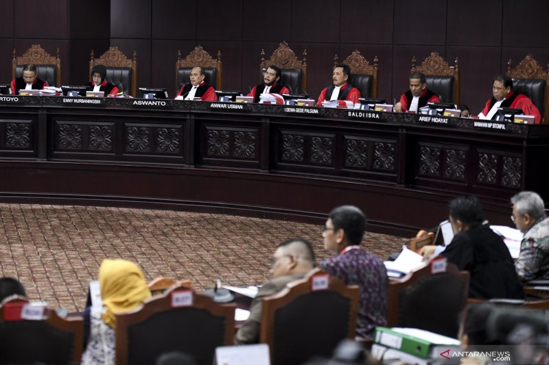 MK tidak menolak perbaikan permohonan Prabowo-Sandiaga
