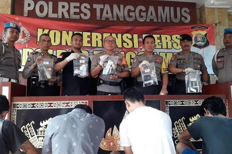 Polisi tangkap protokol Wakil Bupati Tanggamus